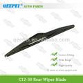 Quadro de limpador de pára-brisas lâmina para mini cooper r53 carro, palhetas do limpador traseiro tamanho polegadas: 12''