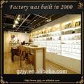 Fashion design moderno decoração da loja de perfumes, perfume de exposição da loja