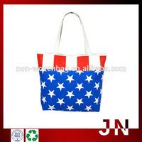 Cotton Printed Shopping Bag, Cotton Canvas Shopping Tote Bag
