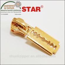 #10 shiny gold slider