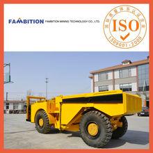 underground mining tunnel 4x4 hydraulic articulated chinese haul truck
