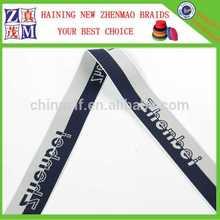 jacquard woven ribbon 38mm high quality underwear elastic with logo