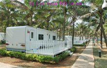 2014 economical lost cost and easy assembly 20ft container house for meeting room/worker's accommodation