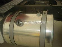 200L HOWO round aluminum fuel tank