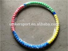 good quality foam fitness hula hoop folding hula hoop UK089