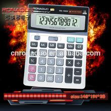 two memory calculator Desktop Calculator&Calendar Calculator 1200V solar calulator