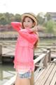 2014 yaz yeni uzun- kollu şeffaf dantel kapüşonlu güneş giyim 8