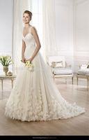 2014 Beautiful Straps A-line Pakistani Wedding Dresses