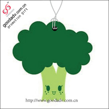 Special offer OEM Paper air Freshener promotional plant shaped funny car air fresheners