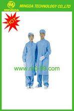 ESD Cleanroon Smock / Anti-static Grid Working Clothes / ESD Garments With High Quality