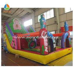 Inflatable aboriginal bounce/bouncy/fun city / castle/combo inflatable amusement park /game /slide