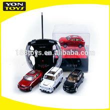 1:43 hot model licensed remote control car 4asstd