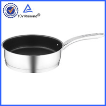 non-stick round fry pan MADE FROM S/S 304 kitchenware with best quality