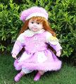 24 pulgadas baratos al por mayor hablando baby doll, baratos baby dolls que parecen reales, bebé suave felpa juguete de la muñeca