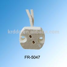 manufacturer! G4 porcelain lamp holder with cable