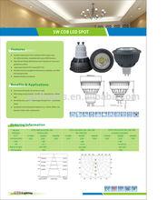 Hot design 5w led spot gu10 oem led replacement bulbs
