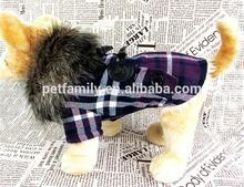 winter dog coats, fur dog clothing pet jacket wholesale