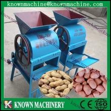 New design high efficient big capacity automatic 200kg/h peanut peeling machine,peeling peanut shell machine