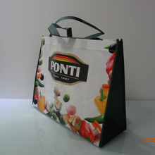 Print laminated shopping tote bag non woven bag
