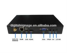 3g wifi Network HD 1080P advertising magic mirror light box
