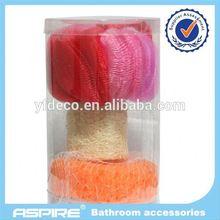 fish shape bath sponge