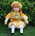 Pulgadas 24 hermosa niña precioso bebé de juguete de la muñeca, español muñecas juguetes cantando, precioso juguetesparabebés muñeca de moda