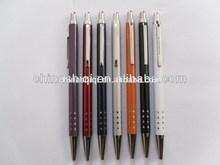 Aluminum barrel copper parts high-end gift ball pen