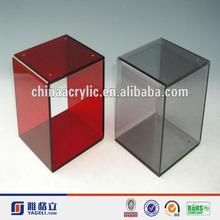 small modern colored acrylic bar stools
