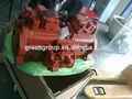 Doosan escavadeira dh258 bomba principal k3v112dtp, doosan hidráulica bomba de k3v63, k5v140, k3v112, k3v140, k3v180 kawasaki principal da bomba