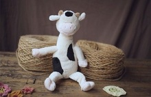 Carrefour supplier new 2014 china soft toys dairy cow baby doll