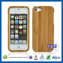 Manufacturer Wholesale Ultra Thin Slim mobile phone case for iphone5 carved wood case