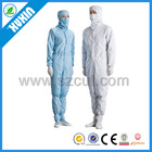 different size esd uniform/esd work clothes/antistatic smock/esd safety clothes