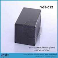 110*80*200mm Brush modem aluminium extruded aluminum boxes