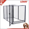 Hot sale large black welded square tube dog kennel