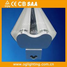 T8 fixture housing for LED tube, LED batten housing, empty LED housing