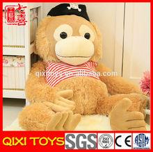 Hot selling customized long leg monkey of plush toys