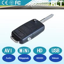 5 megapixels 1280*960 30fps AVI USB interfac HD wireless keychain camera high capacity lithium battery PC webcam