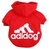 Red pet dog sweatshirts, wholesale dog products, dog product