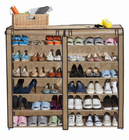 Standing Plastic Shoe Storage Cabinet with Covers