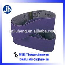 stone abrasive sanding belts for metal/wood/sander machine