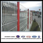 PVC coated the triangle bending guardrail fence for road alibaba website/ISO9001,2008