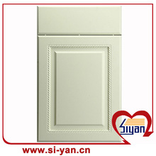 mdf doors plastic moulding for kitchen cabinet