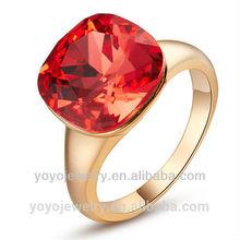 New Arrival Diamond 18K Golden Wedding Engagement Ring