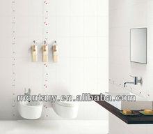 snow white polished crystal glass wall stone bathroom tile design