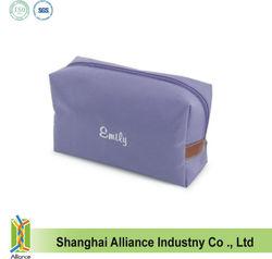 Folding Waterproof Cosmetic Organizer Handle Makeup Bag Cases Pink Rose Purple