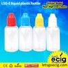 e liquid empty bottles PE/PET/Glass needle cap child-proof cap all size