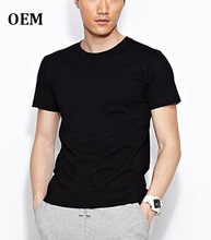 Black OEM men's o-neck tshirt