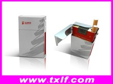 silkscreen metal aluminum cigarette case.metal cigarette box,cigarette pack cover