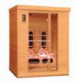 Sauna infrarouge/japonais, maison en bois