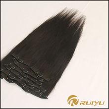 Best quality best selling virign hair extensions clip on mongolian hair bundles